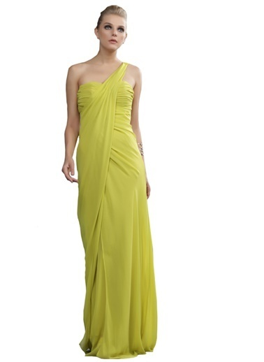 Pierre Cardin Abiye Elbise Yeşil